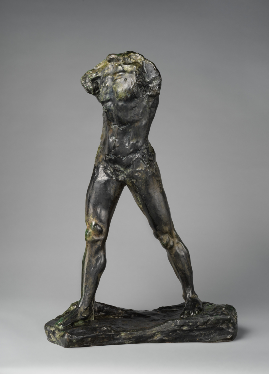 The Walking Man by Auguste Rodin