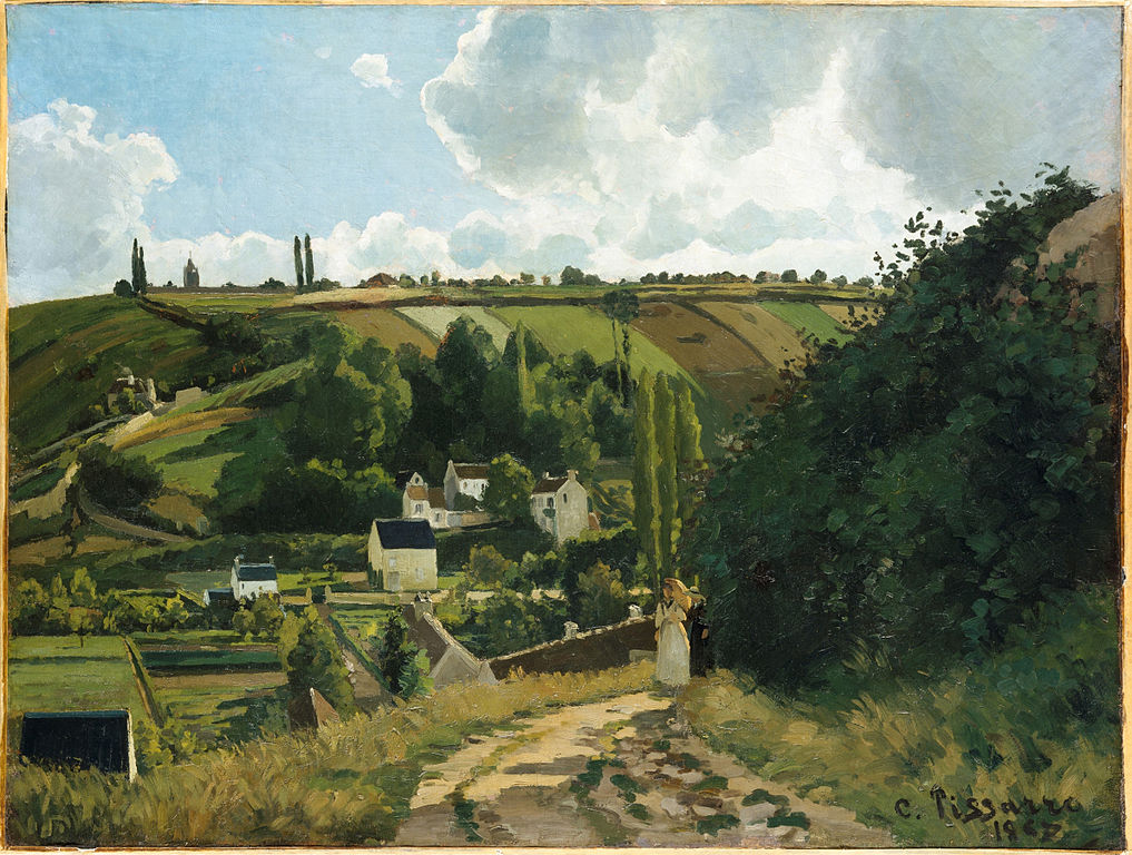 Jalais Hill, Pontoise painting by Camille Pissarro