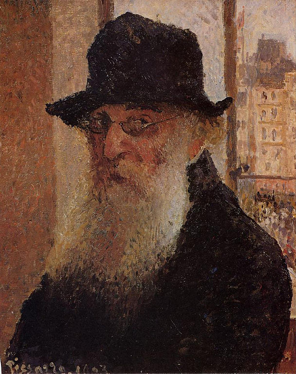 Self-portrait (1903) painting by Camille Pissarro