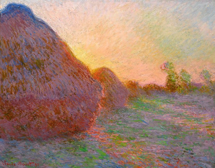 Haystacks (Meules) painting by Claude Monet