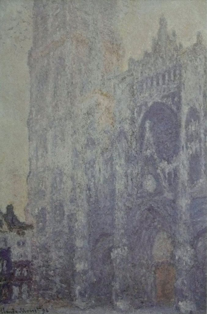 Rouen Cathedral painting by Claude Monet