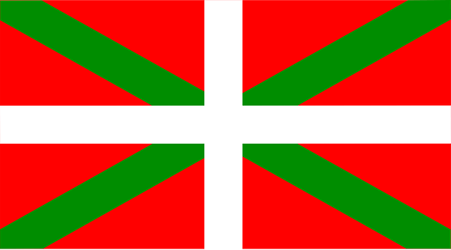 The Basque flag
