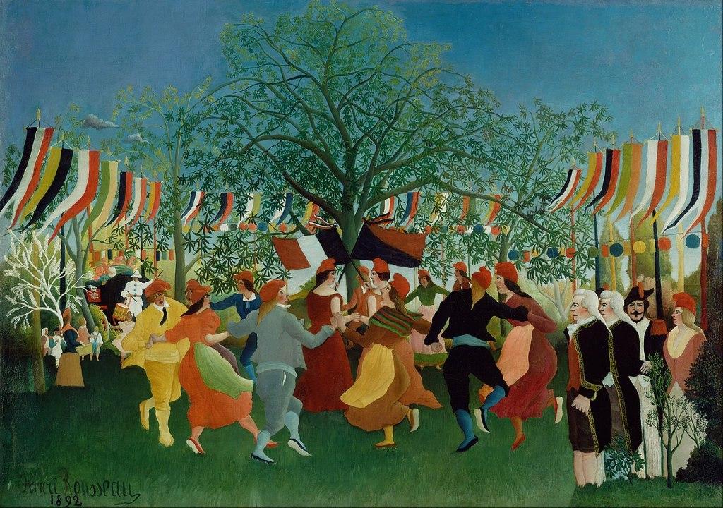 A Centennial of Independence (Le centenaire de l'indépendance) by Henri Rousseau