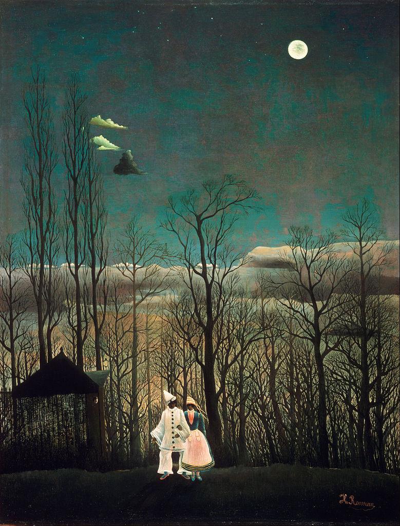 Carnival Evening (Un Soir de Carnival) by Henri Rousseau