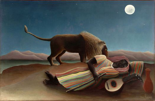 Ten of the Most Famous Paintings by Henri Rousseau – The French Desk