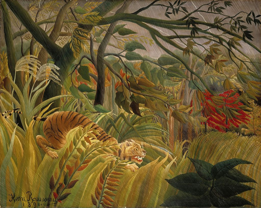 The Sleeping Gypsy (La Bohémienne Endormie) by Henri Rousseau