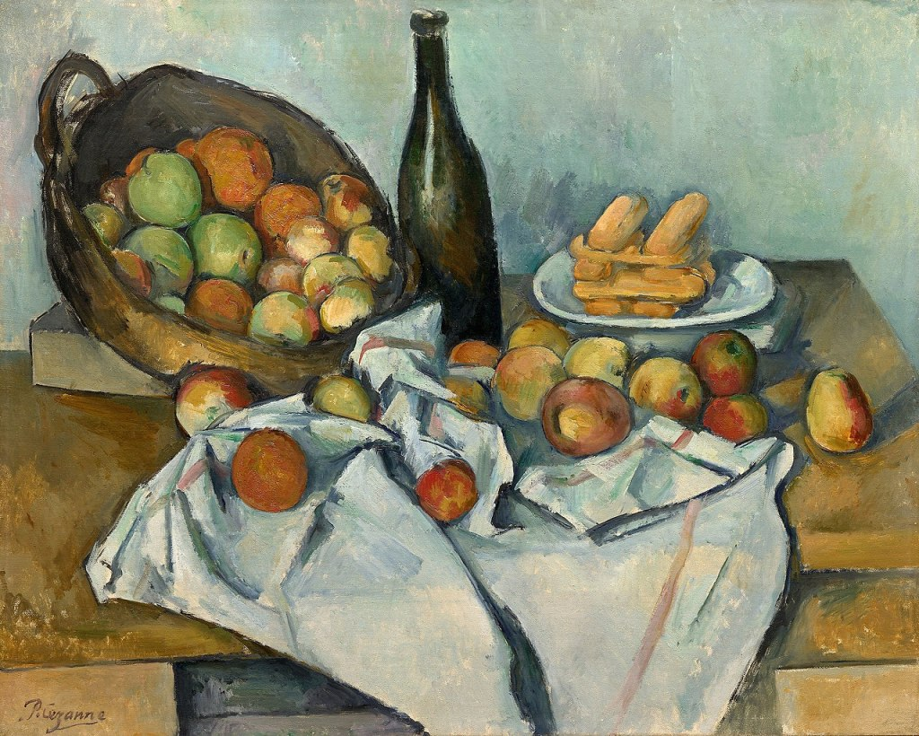 The Basket of Apples painting by Paul Cézanne