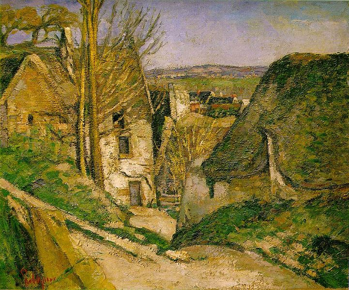 The Hanged Man's House painting by Paul Cézanne