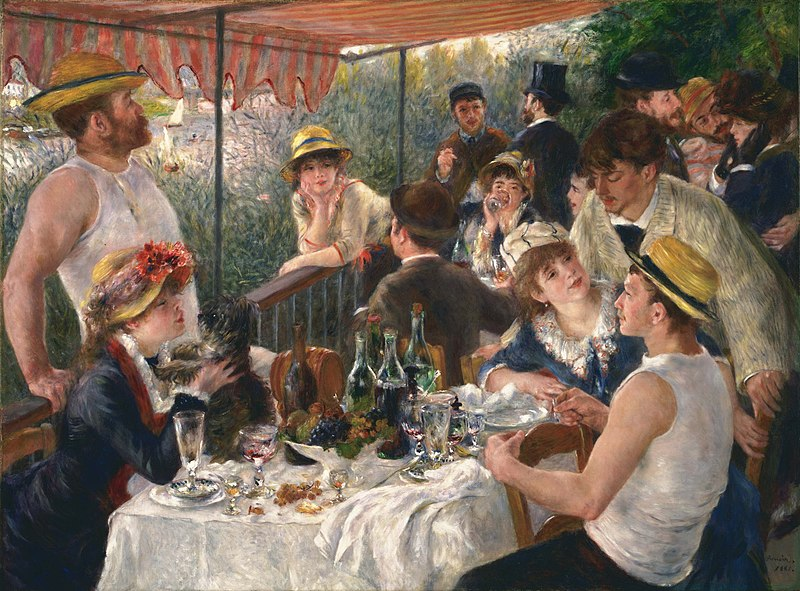 Luncheon of the Boating Party painting by Pierre-Auguste Renoir