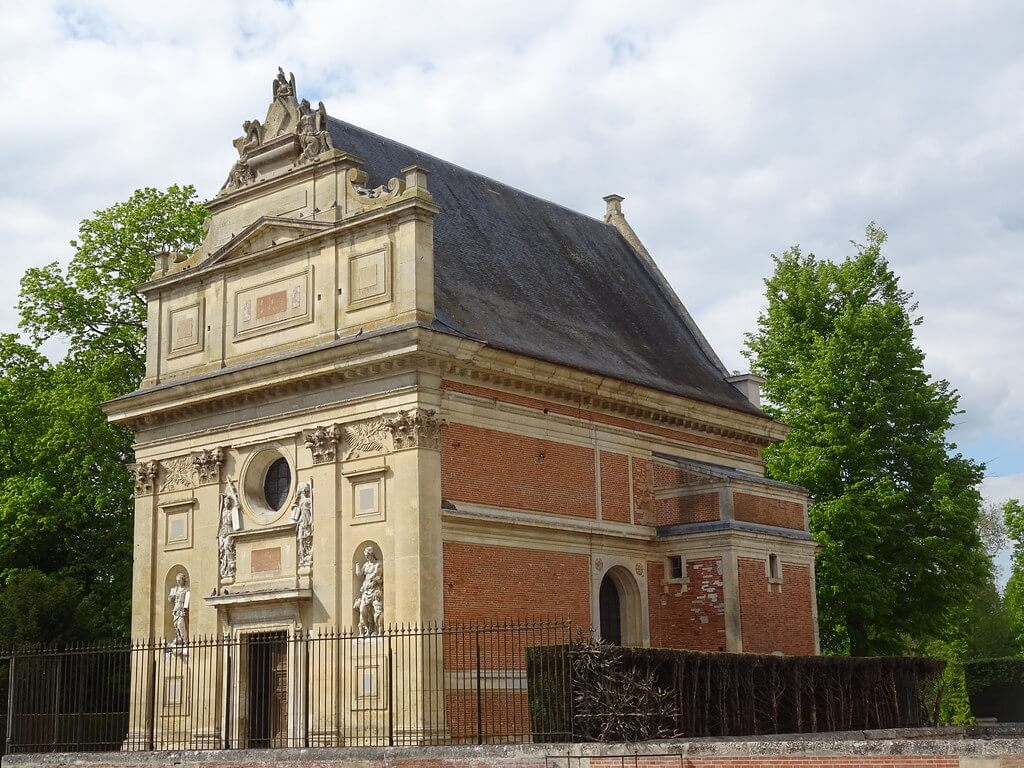 The mortuary chapel at the Château d'Anet