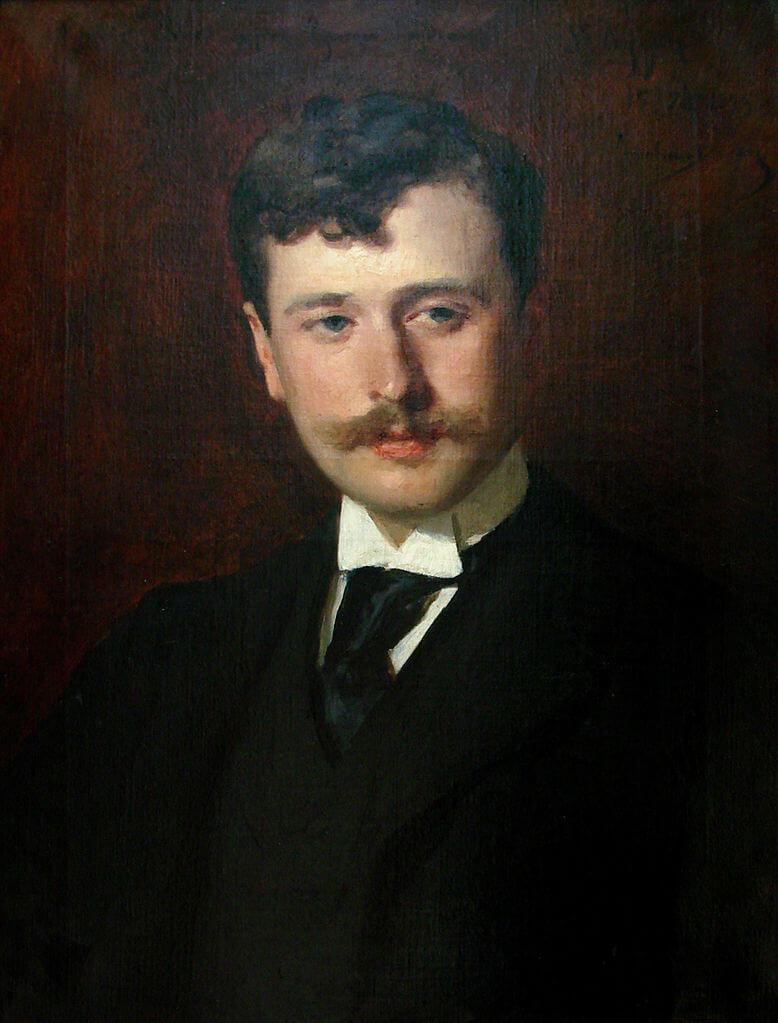 A portrait of Georges Feydeau