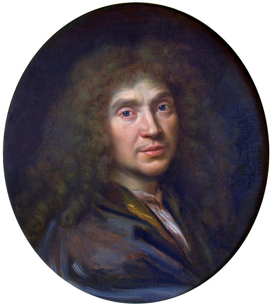 A portrait of Molière