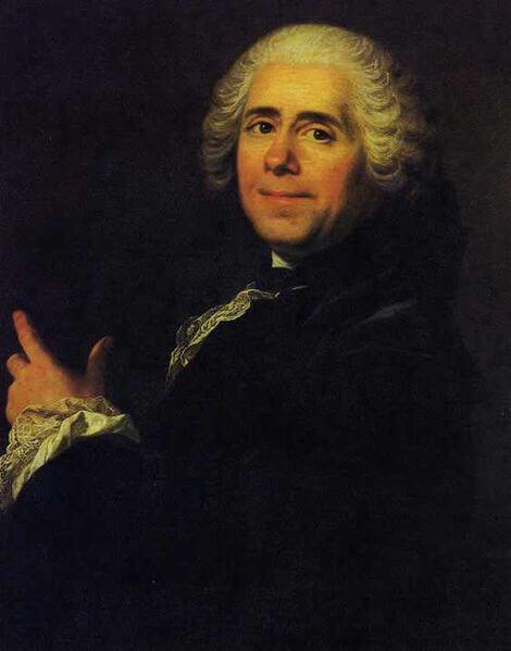 Portrait of Pierre de Marivaux