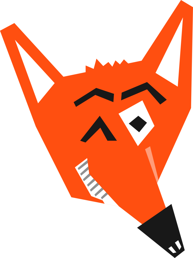 An illustration of a fox
