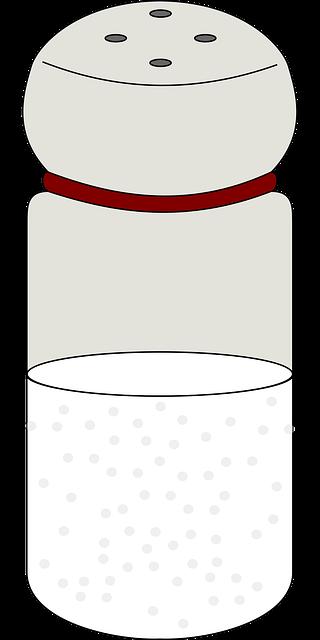 Illustration of a salt shaker