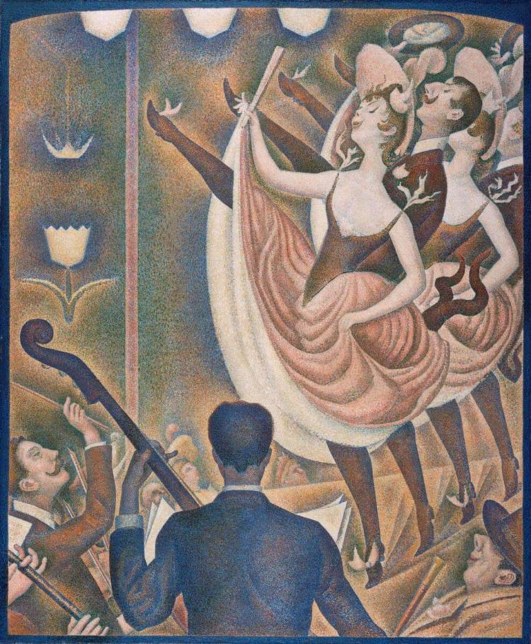 Le Chauhut painting by Georges Seurat